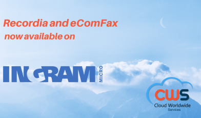 Recordia and eComFax now available in Ingram Micro Cloud marketplace