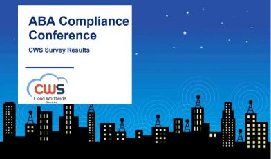 CWS Survey Results From ABA Risk and Compliance Virtual Conference