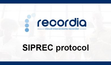 What is SIP recording (SIPREC)?
